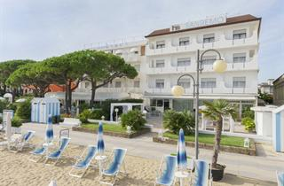 Italy, Northern Adriatic Riviera, Jesolo, Hotel Parioli