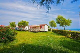 Croatia, Istria, Medulin, Chalet Camp ARENA Kazela-Mobile Homes