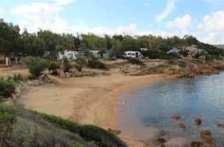 Italy, Sardinia, Arzachena, Camping Centro Vacanze Isuledda
