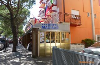 Italy, Northern Adriatic Riviera, Jesolo, Hotel Madison