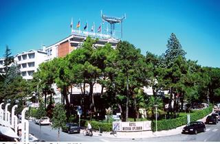 Italy, Northern Adriatic Riviera, Lignano, Hotel Medusa Splendid