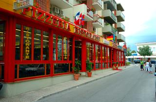 Italy, Northern Adriatic Riviera, Lignano, Hotel Stiefel