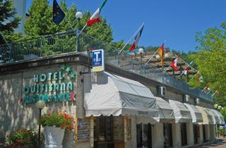 Italy, Tuscany, Chianciano Terme, Hotel Quisisana