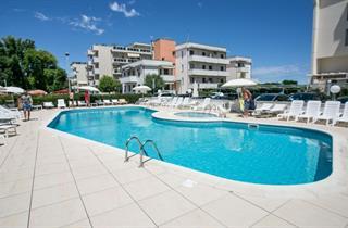 Italy, Central Adriatic Riviera, Viserbella di Rimini, Hotel Fra i Pini