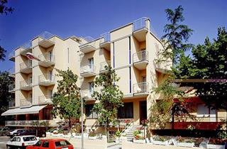 Italy, Central Adriatic Riviera, Cattolica, Hotel K2