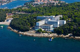 Croatia, Istria, Pula, Hotel Brioni