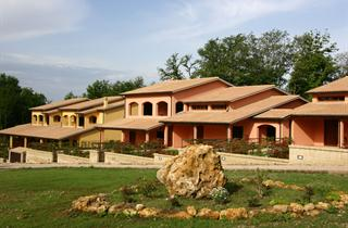 Italy, Tuscany, Sorano, Residence Terme di Sorano