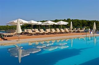 Croatia, Istria, Pula, Ferienanlage Splendid Resort
