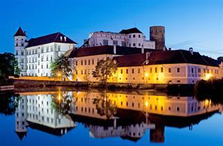 Czechy, Jindřichův Hradec, Hotel Concertino Zlatá Husa