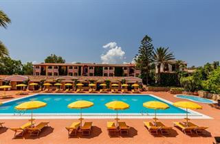 Italy, Sardinia, Orosei, Cala Ginepro Hotel Resort