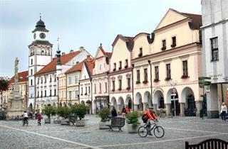 Czech Republic, Trebon, Hotel Zlata Hvezda