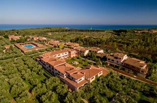Italy, Sardinia, Orosei, Hotel I Giardini di Cala Ginepro Resort