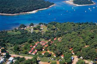 Croatia, Istria, Banjole, Camp ARENA Indije-Mobile Homes