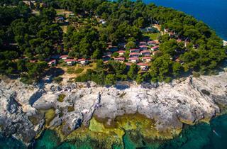 Croatia, Istria, Pula, Camp ARENA Stoja-Mobile Homes