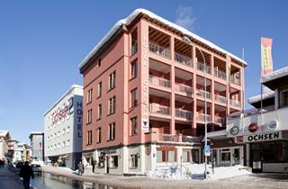 Switzerland, Davos - Klosters, Davos, Hotel Ochsen