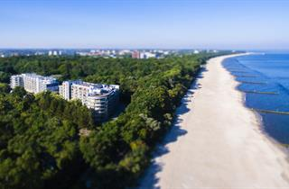 Poland, Baltic Sea Coast, Kolobrzeg, Diune Resort