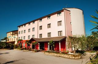 Italy, Lake Garda, Sirmione, Hotel Maraschina