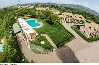 Italy, Tuscany, Sorano, Villaggio Le Querce