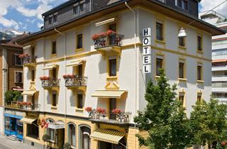 Switzerland, Grachen - Matterhorn Valley, Brig, Hotel Ambassador
