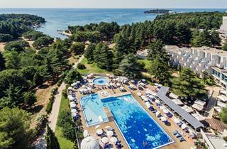 Croatia, Istria, Porec, Hotel Valamar Crystal