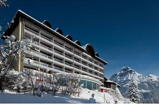 Switzerland, Engelberg, Hotel Waldegg