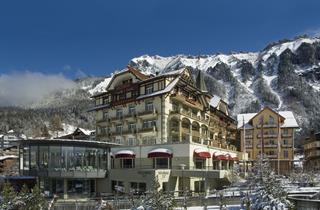 Switzerland, Jungfrau, Wengen, Hotel Spa Victoria-Lauberhorn
