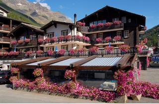Switzerland, Saas Fee – Saastal, Saas Grund, Hotel Bergheimat