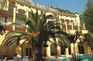 Italy, Lake Garda, Limone sul Garda, Hotel Cristina
