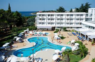 Croatia, Istria, Novigrad Istria, Hotel AMINESS Laguna