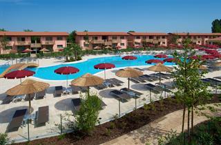 Italy, Northern Adriatic Riviera, Lignano Sabbiadoro, Hotel Green Village Resort