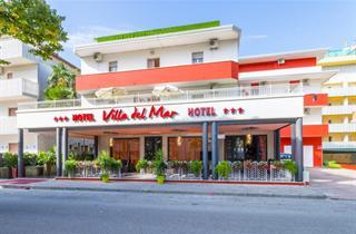 Italy, Northern Adriatic Riviera, Bibione, Hotel Villa del Mar