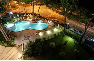Italy, Northern Adriatic Riviera, Lignano, Hotel Mediterraneo