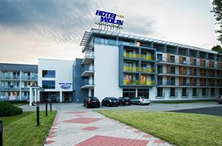 Poland, Baltic Sea Coast, Międzyzdroje, Hotel Wolin