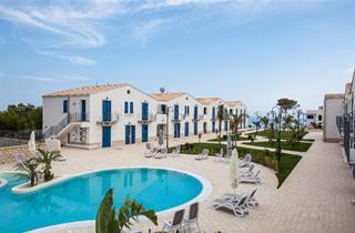 Italy, Sicily, Realmonte, Resort Scala dei Turchi