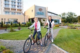 Poland, Baltic Sea Coast, Kolobrzeg, Arka Medical Spa Hotel