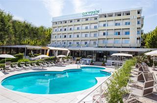 Italy, Central Adriatic Riviera, Viserbella di Rimini, Hotel Oxygen