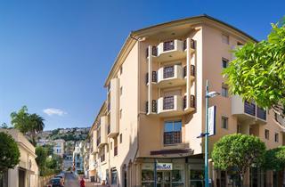 France, French Riviera, Menton, Apartments Pierre & Vacances Les Citronnies