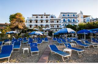 Italy, Sicily, Giardini-Naxos, Hotel Kalos