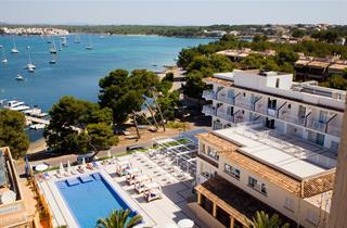 Spain, Mallorca, Porto Colom, Hotel Vistamar