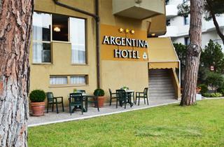 Italy, Northern Adriatic Riviera, Grado, Hotel Argentina