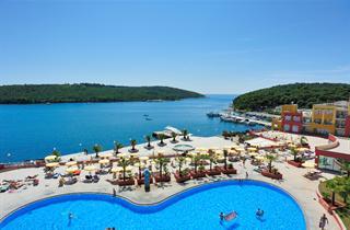 Croatia, Istria, Banjole, Resort Del Mar