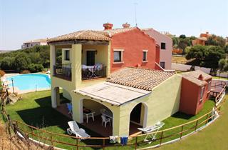 Italy, Sardinia, Stintino, Sea Villas Country Village