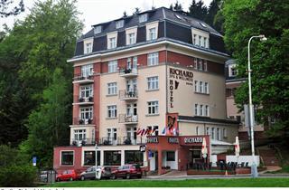 Czechy, Mariánské Lázně, Hotel Richard
