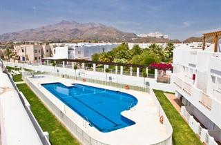 Spain, Costa de Almeria, Mojacar, Apartments Pierre & Vacances Mojacar Playa