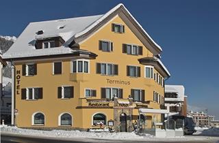 Switzerland, St. Moritz – Engadin, Samedan, Hotel Terminus