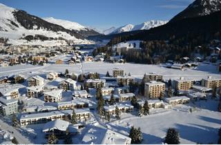 Switzerland, Davos - Klosters, Davos, Apartments Solaria
