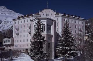 Switzerland, St. Moritz – Engadin, Samedan, Hotel Bernina 1865