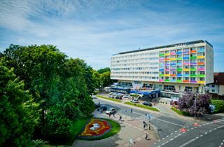 Poland, Baltic Sea Coast, Kolobrzeg, Hotel New Skanpol