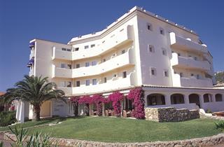 Italy, Sardinia, Arzachena, Hotel Baja