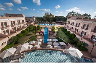 Italy, Sicily, Mazara del Vallo, Hotel Il Giardino di Costanza